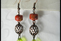 reMOde™ JEWELRY SOLD / GotMO? SOLD...Hand crafted one of a kind (OOAK) artisan earrings made by me.  Each pair is created with a unique and eclectic combination of vintage to new beads,  jewels, findings, stones, wood, crystal, watch & other interesting pieces.  Because they are created using vintage upcycled pieces like my paintings they are original pieces, that will never be made exactly the same again. / by Mo LOVE