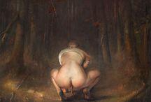 Одд Нердрум / Одд Нердрум (англ. Odd Nerdrum, р. 1944) - современный норвежский художник. Подробнее: http://contemporary-artists.ru/Odd_Nerdrum.html