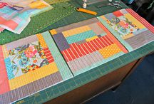 Quilting - Quilt as you go (QAYG)