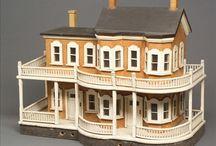 Dollhouses / Кукольные дома / Handmade dollhouses