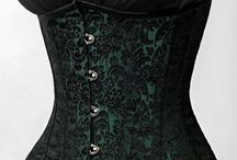 Graced Waist / Waist, wasp waist, corsets, elegant dresses, waistcoats, steampunk, vintage, fashion, photography