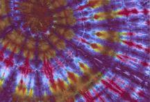 Fine art of Tie Dye / Fine Art Tie Dyes done by Grey Forest Studio, LLC.