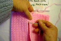 SEWING, SEAMING  ( CROCHET & KNITTING )