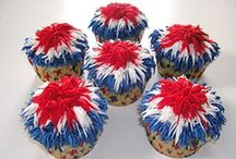 Love | Patriotic Recipes & Crafts / Patriotic food and desserts, crafts for kids and adults and red, white and blue decorations - perfect for Memorial Day, Fourth of July and Labor Day!