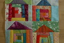 Patchwork House blocks