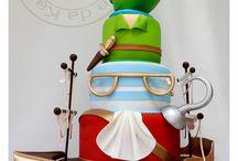 Peter Pan & Tinkerbell / cakes & cookies ideas