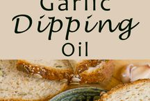 Olive oils dipping sauce