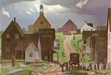 Alfred Joseph Casson / Canadian (Group of seven)