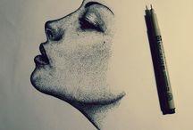 Drawing, Art, Illustrations