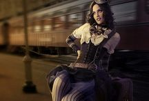 Steampunk lady