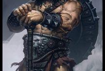 Barbarian Wolf Tribe