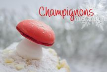 .recette champignons meringués
