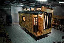 Fahrbare Minihäuser