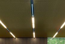 Aluminium suspended ceilings
