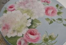 ortensia bianca /rosa