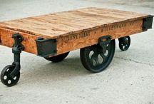 Industrial/Steampunk Furniture