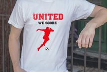United We Score / Essential Street Wear for United Fans - Made by United Fans from Manchester