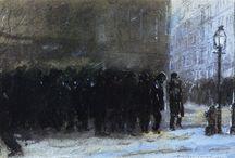 Sloan, Henri, Glackens, Bellows, Luks, Shinn