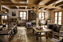 Domy w stylu country / Projekty i zdjęcia domów urządzonych w stylu country, czyli z miłością do wsi, natury, zwierząt i dobrego smaku.