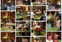 Floral Design Classes @ Dragonfly Floral