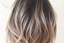 Litt lengre hår