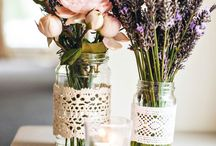 Summer party - rustic and romantic