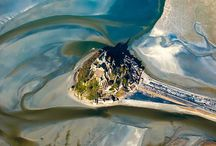 mont st michel in normandy france