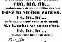 logopedie - básničky