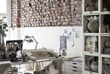 My home office and studio / Beautiful home offices and writing rooms for writers, authors and illustrators. Spaces where the words will flow and where you'll be inspired to write your book.