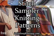 18 STITCH KNITTING PATTERNS