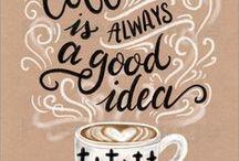 Coffee Quotes + Art / caffeine, coffee, art, coffee art, coffee prints, coffee free prints, coffee SVG, coffee bean, coffee humor, coffee quotes.