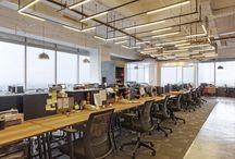 Interior industrial office
