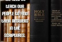 Church - Scriptures / by Judy Sokol