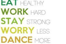 Health, Fitness, & Nutrition / by Alexa Bennett