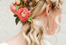 Flowers for the bride's hair