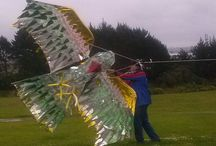 Kites / new kite designs and testing of the prototypes