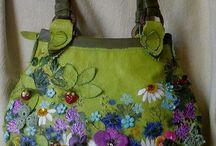 çiçekli çantalar