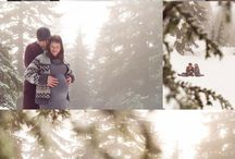 Winter/Fall Outdoor Maternity Inspiration / Cold Weather Maternity Session Inspiration