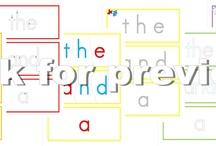 homeschool sight words / by Crystal Cross