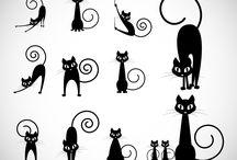 Cat motifs