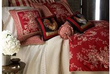 Beautiful bedrooms and bedding / by Angela Phillips