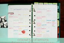 Planning and organizing