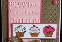 Cards : Cupcakes & Icecreams