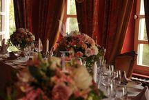Свадьба в цвете марсала / декор в теплых осенних оттенках свадьба бордовых цветах декор в цвете марсала