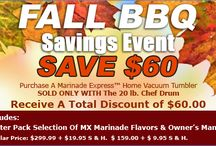 Marinade Express Promotions & Sales