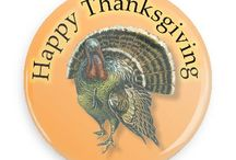 Thanksgiving Buttons / Funny Buttons - Custom Buttons - Promotional Badges - Thanksgiving Pins - Wacky Buttons