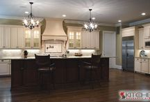 Two Tone Kitchen Cabinets / by Cabinets.com by Kitchen Resource Direct