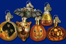 Halloween / Old World Christmas Halloween glass ornaments will put some spook into your celebration!