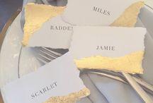 Wedding Name Tags ▲