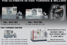 CNC Milling/Turning Machines